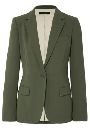 Theory - Crepe Blazer - Army green