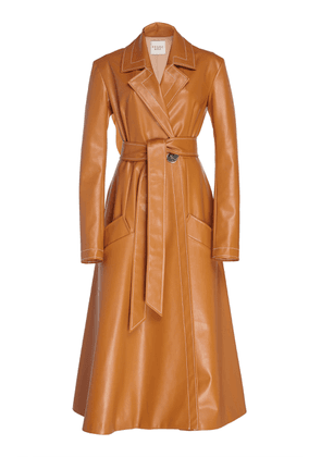 A.W.A.K.E. Faux Leather Trench