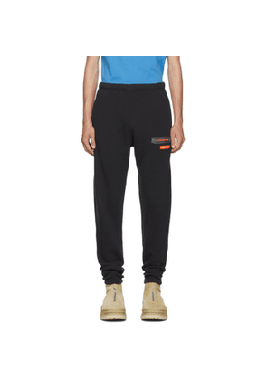 Heron Preston Black Uniform Lounge Pants