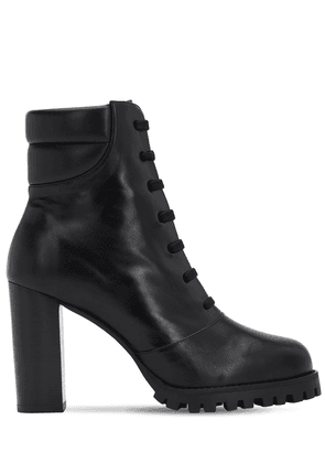 90mm Cyler Leather Ankle Boots