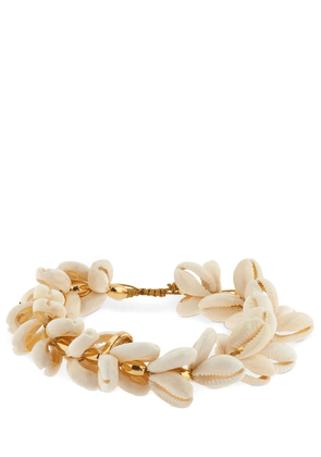 Multi Natural Puka Cowrie Anklet