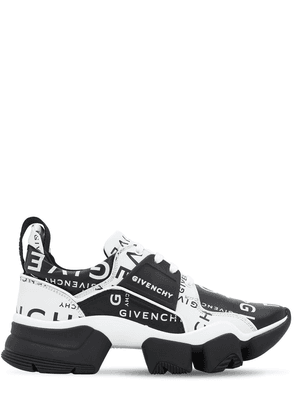Logo Leather Jaw Sneakers