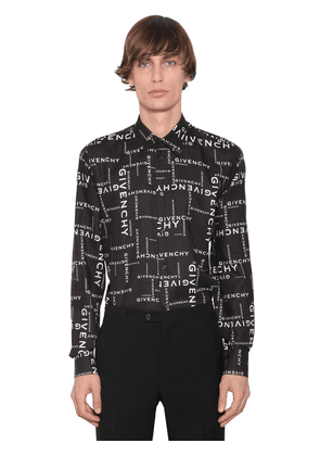All Over Logo Printed Shirt