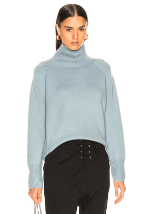 NILI LOTAN Mariah Sweater in Sky Blue - Blue. Size M (also in ).