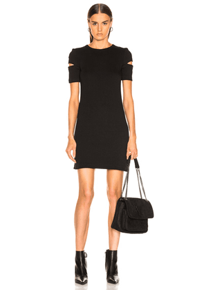 Helmut Lang Ribbed Dress in Black - Black. Size XS (also in ).