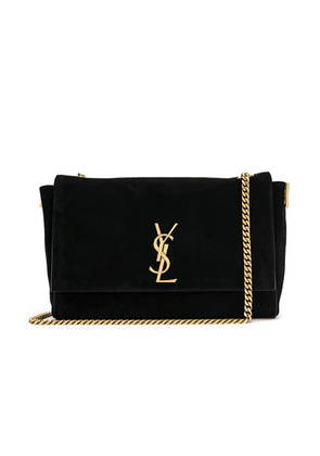 Saint Laurent Reversible Monogramme Kate Bag in Black - Black. Size all.