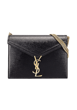 Saint Laurent Medium Monogramme Cassandra Crossbody Bag in Black - Black. Size all.