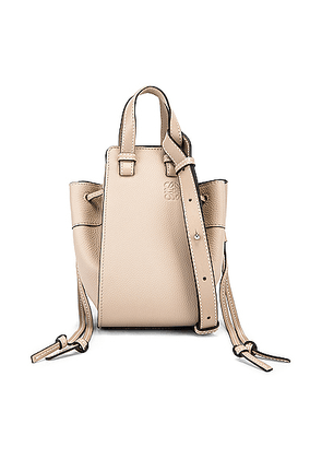 Loewe Hammock DW Mini Bag in Light Oat - Neutral. Size all.