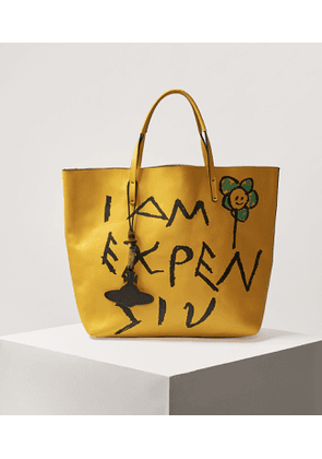 Hampstead Leather Shopper Yellow