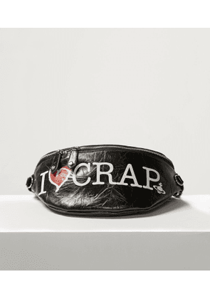 I Love Crap Bumbag Black