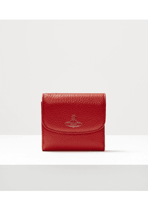 Rachel Medium Wallet With Coin Pocket Red