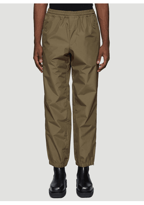 Helmut Lang Pull-On Track Pants in Khaki size S