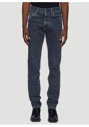 Helmut Lang Straight Leg Jeans in Blue size 28