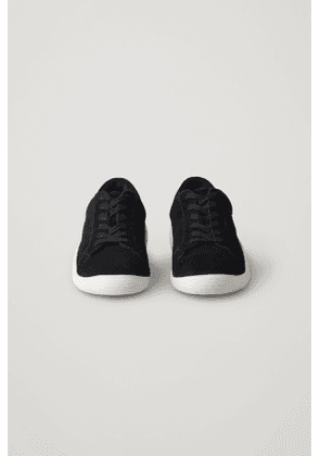 SUEDE SNEAKERS WITH RUBBER SOLES