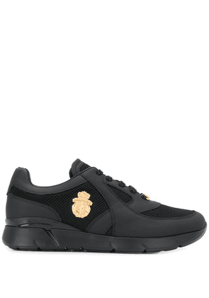 Billionaire brand plaque sneakers - Black