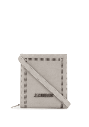 Jacquemus Le Gadjo shoulder bag - Grey