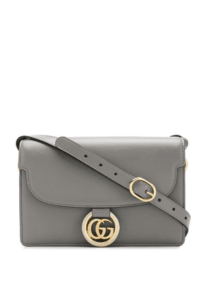 Gucci Double G shoulder bag - Grey