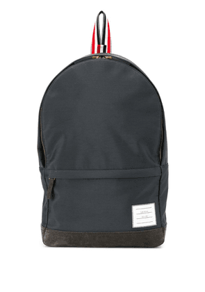 Thom Browne Unstructured Nylon Backpack - Grey
