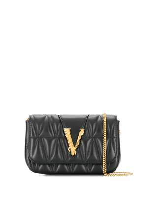 Versace Virtus shoulder bag - Black