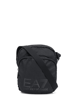 Ea7 Emporio Armani shell shoulder bag - Black