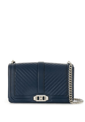Rebecca Minkoff Love crossbody bag - Blue