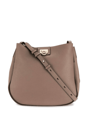 Salvatore Ferragamo Gancini shoulder bag - Neutrals
