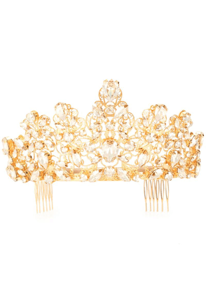 Dolce & Gabbana crown hairslide - Gold