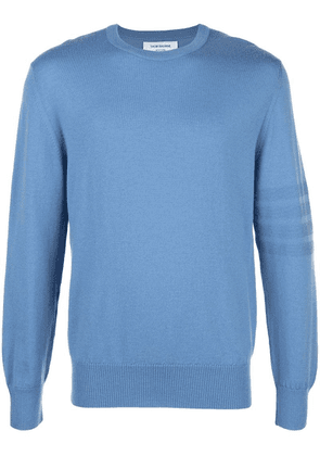 Thom Browne 4-bar Stitch Pullover - Blue