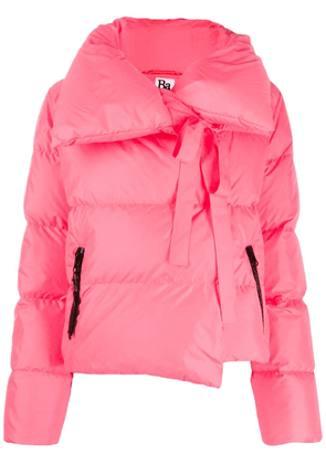 Bacon feather down puffer jacket - Pink