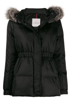 Moncler hooded padded jacket - Black