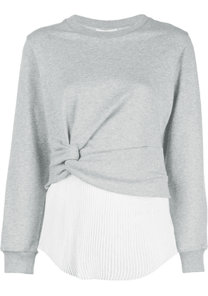 3.1 Phillip Lim twisted layered top - Grey