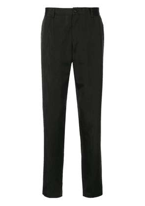 Dolce & Gabbana straight-fit suit pants - Black