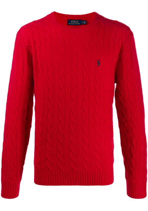 Polo Ralph Lauren cable knit jumper - Red