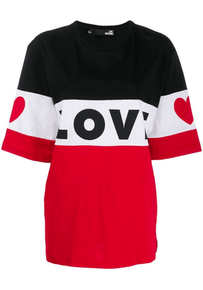 Love Moschino Love T-shirt - Black