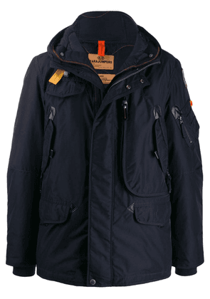 Parajumpers hooded padded jacket - Blue