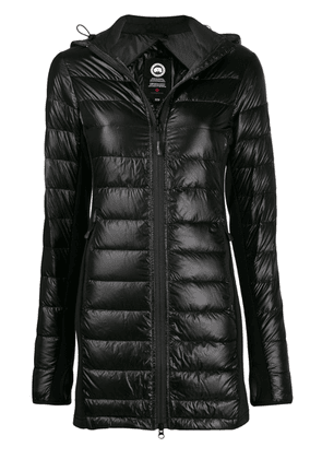 Canada Goose fitted padded jacket - Black