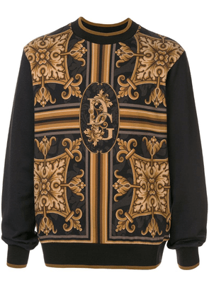 Dolce & Gabbana printed sweater - Black