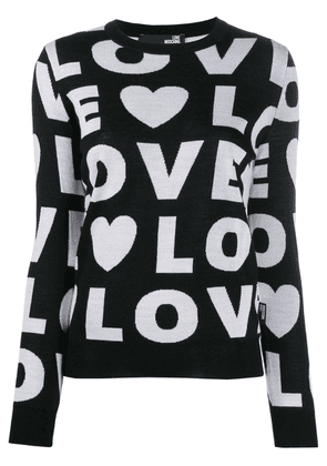 Love Moschino Love jumper - Black