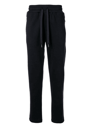 Dolce & Gabbana logo patch track pants - Black