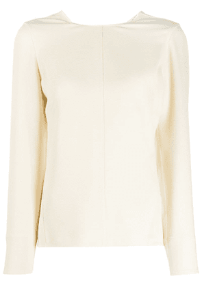 Victoria Beckham twisted top - Neutrals