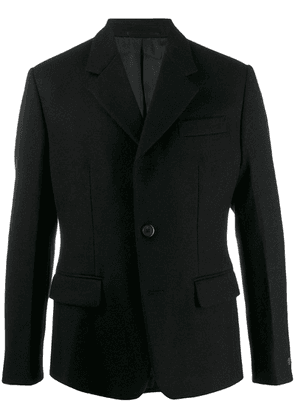 Prada fitted suit jacket - Black
