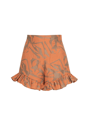 Alexis Ibana High Waisted Cotton Amber Shorts