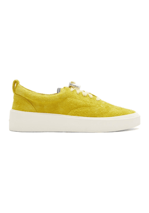 Fear of God Yellow Suede Sneakers
