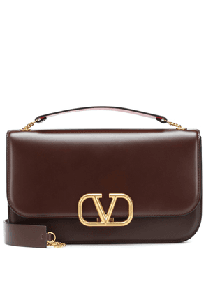 Valentino Garavani VLOCK Medium leather clutch