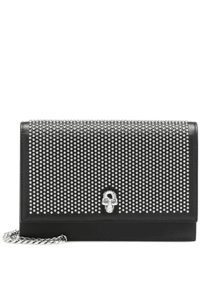 Skull Mini embellished shoulder bag