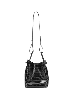 Vosges Small croc-effect shoulder bag