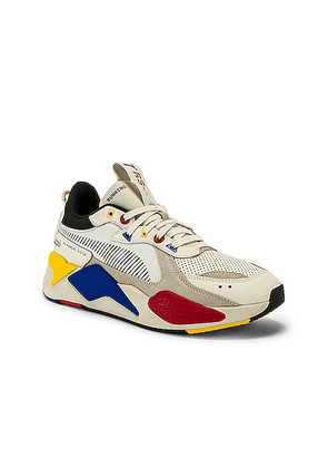 Puma Select RS-X Colour Theory in Multi - Blue,Red,White,Yellow. Size 10 (also in 10.5,11,12,13,8,8.5,9,9.5).
