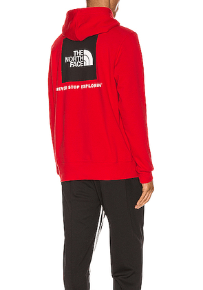 The North Face Red Box Hoodie in TNF Red - Red. Size L (also in M,S,XL).