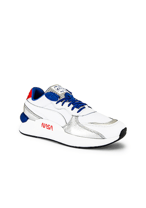 Puma Select RS 9.8 Space Agency in Puma White - Blue,White. Size 10 (also in 10.5,11.5,12,13,7.5,8,8.5,9,9.5).