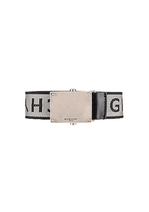 Givenchy Belt in Grey & Black - Gray. Size 100 (also in 90,105).